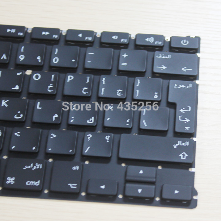 13 inch Laptop Replacement Parts Arabic Keyboard for Macbook Air A1369 AR Keyboard Layout 5pcs/Lot(China (Mainland))