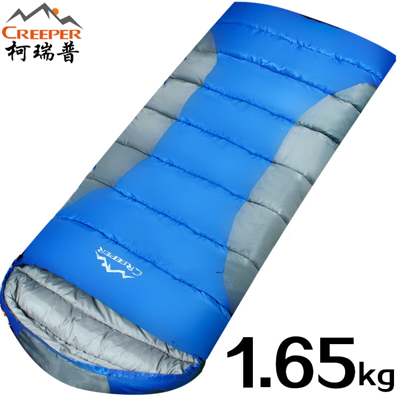 CR-SL-003  1.65KG   envelope sleeping bag outdoor camping sleeping bags summer sleeping bag can be spliced single cotton<br><br>Aliexpress