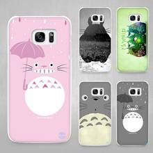Buy Totoro Hard White Coque Shell Case Cover Phone Cases Samsung Galaxy S4 S5 S6 S7 Edge Plus for $1.49 in AliExpress store