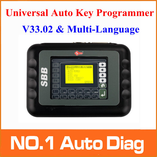 2015 Top Quality SBB Auto Key Programmer SBB V 33.02 Key Programmer Support Multi-languages Key maker Free Shipping(China (Mainland))