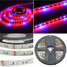 5050 Grow LED Flexible Strip Tape Light 4:1 4 Red 1 Blue Aquarium Greenhouse Hydroponic Plant Growing Lamp 60led/m 1M 2M 4M 5M(China (Mainland))