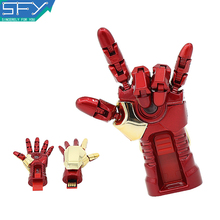 2015 New SFY Real Capacity Iron Man Cool Model  8GB 16GB 32GB Pen Drive Pendrive USB Flash Drive For PC Free Shipping