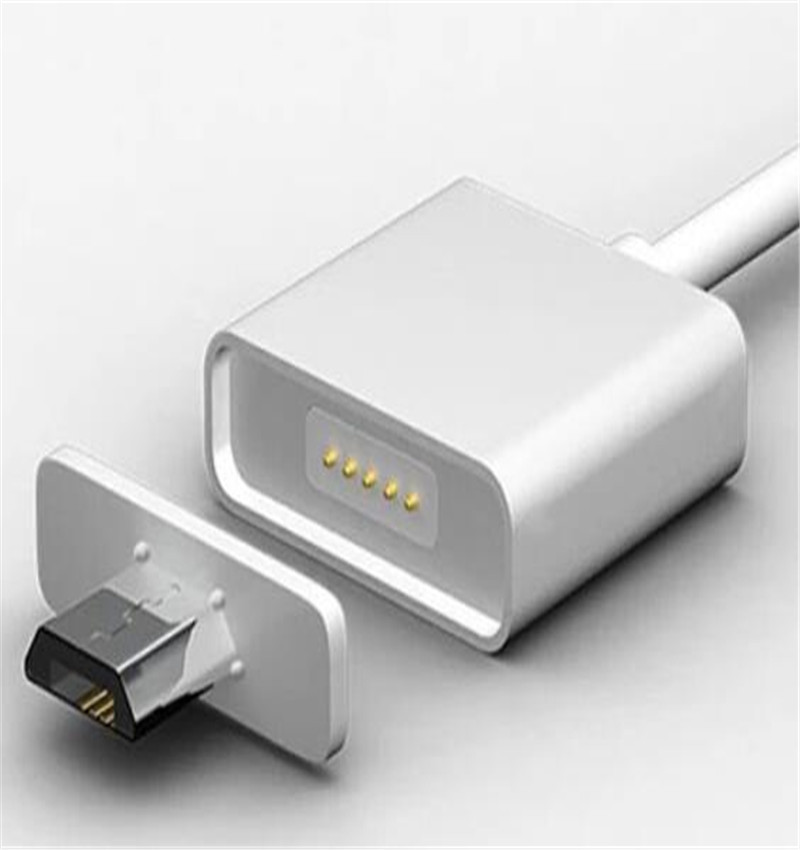 100pcs Magnet Charger Cable for Android Smart Phone Micro USB Cable Data Sync Cable free shipping by express(China (Mainland))
