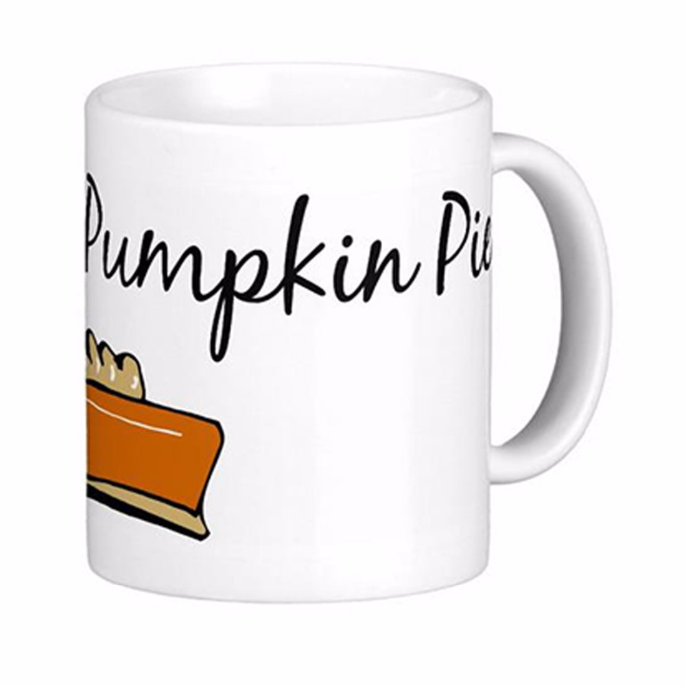 Sweet As Pumpkin Pie White Coffee Mugs Tea Mug Customize Gift By LVSURE Ceramic Cup Mug Travel Coffee Mugs(China (Mainland))