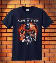 2017 Men T Shirt Von Miller Anime Trump Tshirt Tshirts Tees Jersey T-Shirt Funny Clothing Mens T Shirts Fashion 2016(China (Mainland))