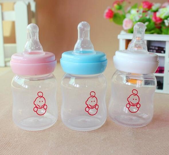 Envío gratis 60 ml de zumo bebé biberón bebé recién nacido mini ...