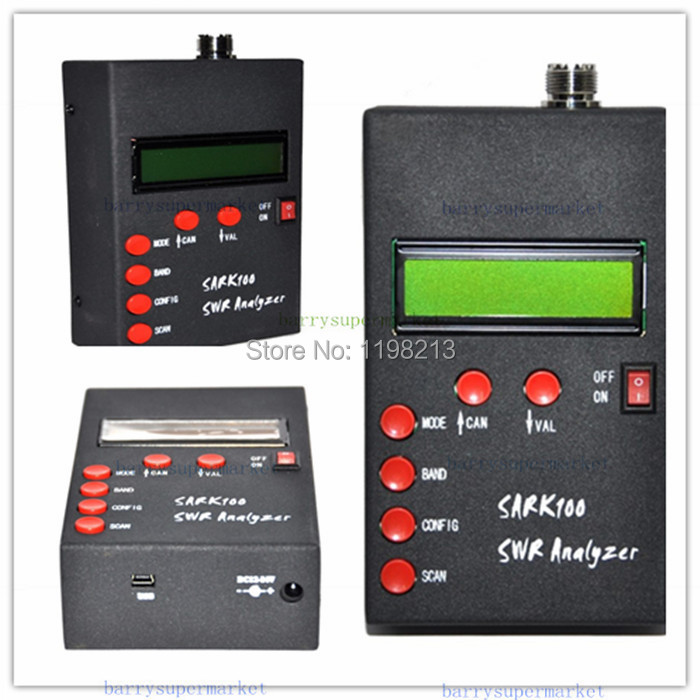 ANT SWR Antenna Analyzer Meter For SARK100 Ham Radio Hobbists<br><br>Aliexpress