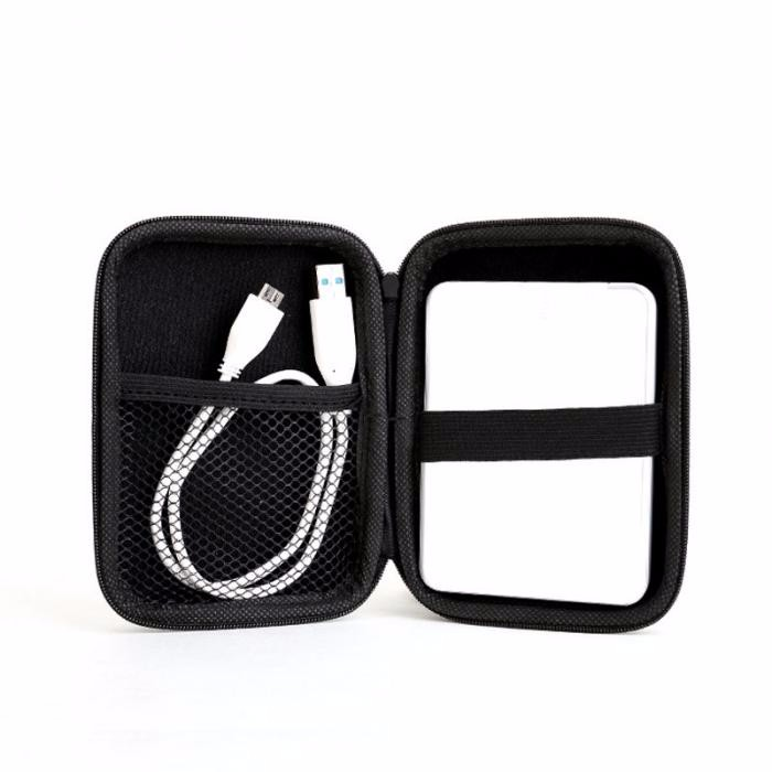 1pc 14cm*10cm*3.5cm Case Cover For Cable Pouch Power Bank USB External HDD Hard Disk Drive Protect Protector Storage Bag  -43
