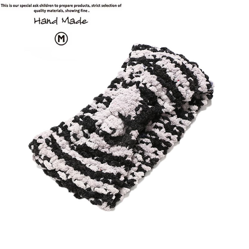 2016 8 colars Hand made style Ear Winter Warm Headband Crochet Knitted Hairband Headwrap Hair Band Accessories For women #FD042(China (Mainland))