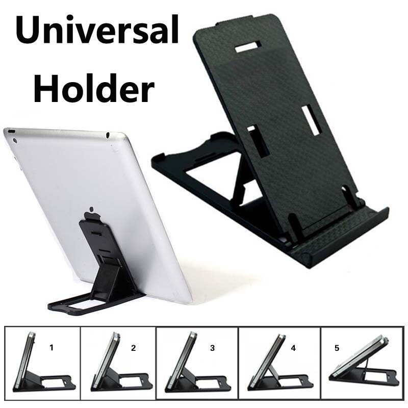Adjustable Tablet PC pad holder Stand for iPad 2 3 4 5 Mini Air Black hold
