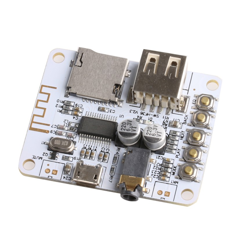 Wireless Bluetooth Audio Receiver Board 5V With USB TF Card Decode Play Module(China (Mainland))