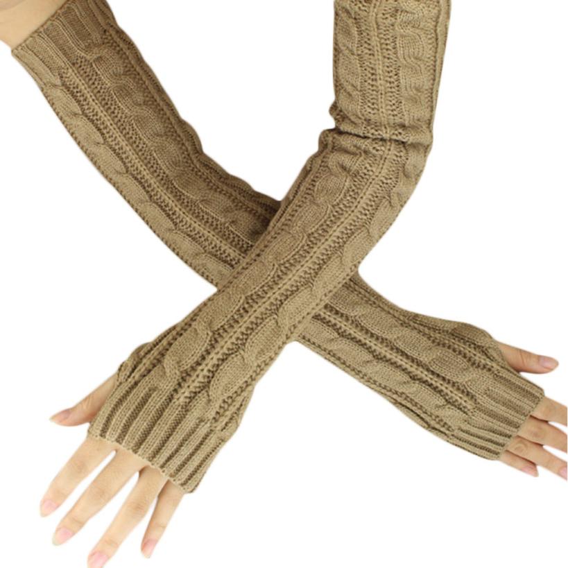 вязать длинные перчатки
