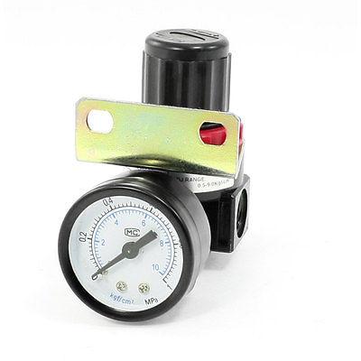 0-1MPa Air Source Compressor Pneumatic Regulator w Pressure Gauge