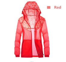 Ultralight waterproof skin trench coat running outside to ride super thin and light-proof clothes-anti-UV breathable Jackets