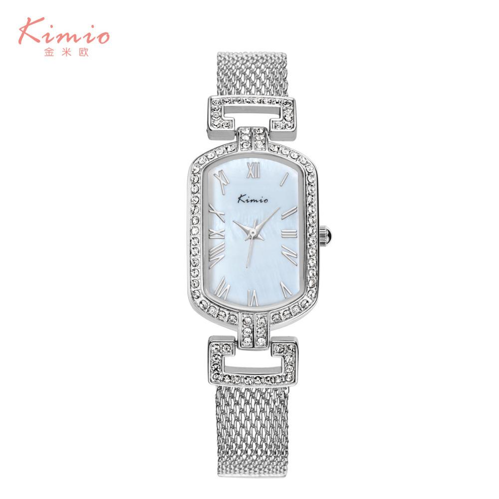 Здесь можно купить  Classic Vintage Roman Scale Women Dress Watches Sparkly Crystals Students Bangle Wristwatch Quartz Analog Relojes Shell NW3706  Ювелирные изделия и часы