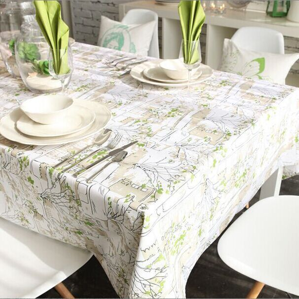 Online Get Cheap Vintage Tablecloths Aliexpresscom  : Linen Table Cloth Tableclothe Mediterranean Printed Dining Table Cover Kitchen Home Textile Home Decor font b from www.aliexpress.com size 606 x 606 jpeg 76kB