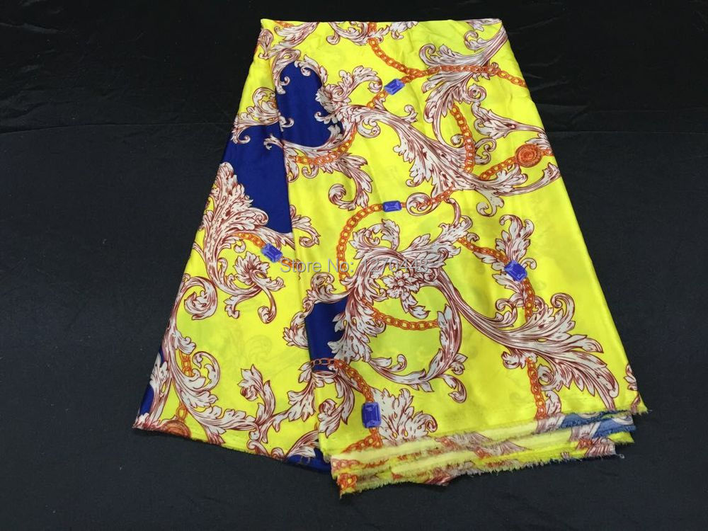 SUMMER New arrival Wholesale 5Yards Silk Satin Fabric Material Textile For Sewing Dress(China (Mainland))