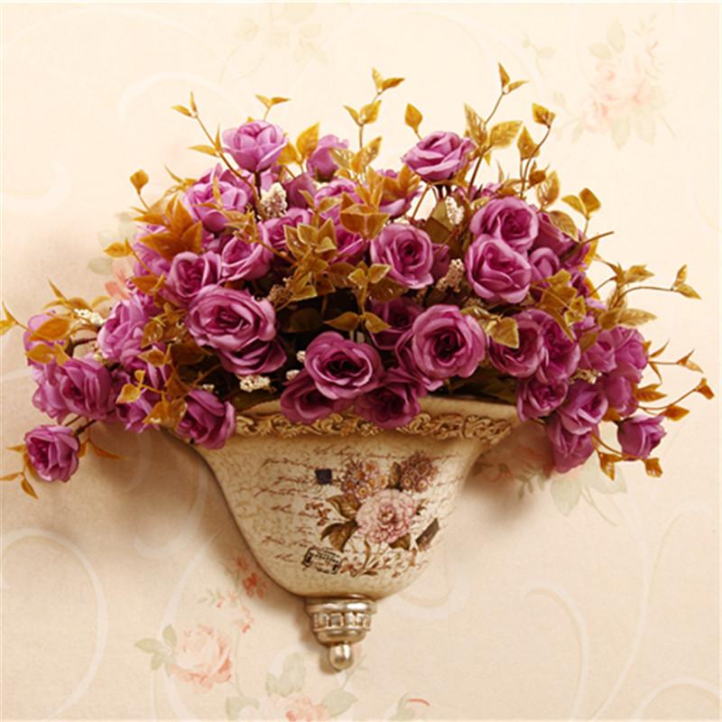 Download Wallpaper Wall Flower Vases Full Wallpapers