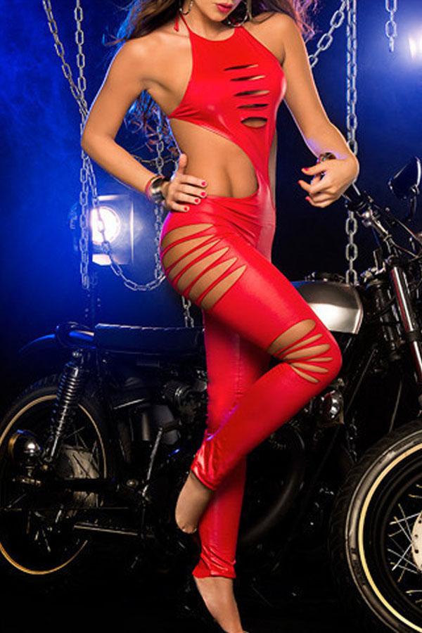 Red-Halter-Neck-Laser-Shred-Exotic-Jumpsuit-LC79789-3-1
