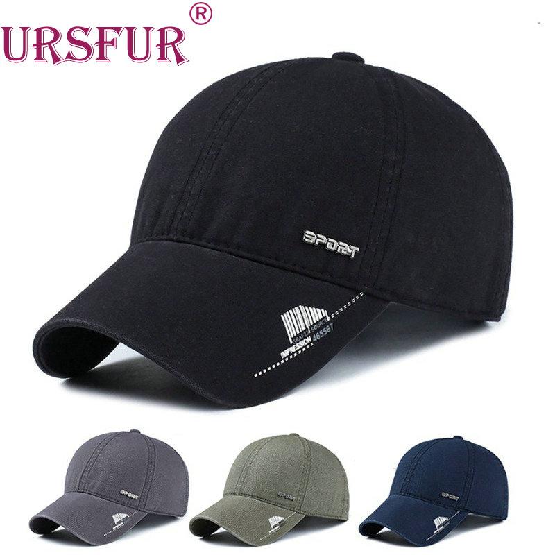 URSFUR Spandex Elastic Fitted Hat Sunscreen Baseball Cap Men or Women bone Casquette(China (Mainland))