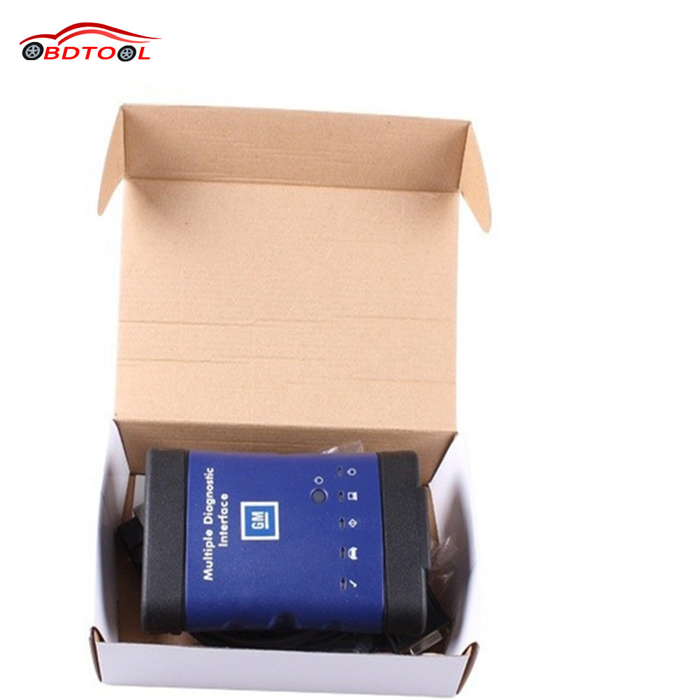 DHL Free working GM MDI scanner Multiple Diagnostic Interface 2016 New Arrivals GM MDI Diagnostic Tool Without WIFI(China (Mainland))