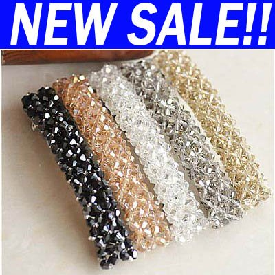 Lovely Bling long Hair Barrettes Clips new 2012 jewellery har-a15(China (Mainland))