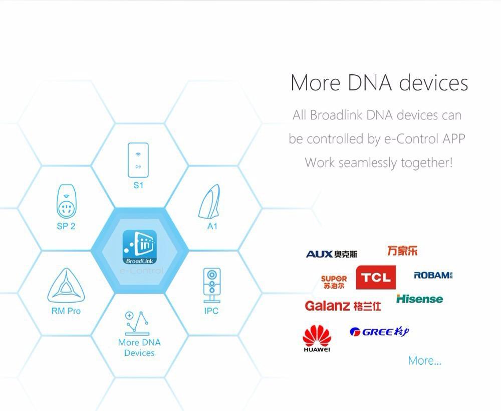 2015 BroadLink MS1 Speakers Wireless Mini Portable Intelligent Home Audio System Ndfeb Magnet Dual Stereo +Dual Passive Radiator