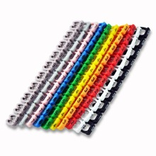 Organizer Identification Cable Wire Color Lable MARK Marker EL0413(China (Mainland))