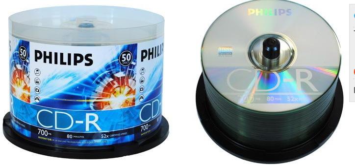 2015 new 700mb 52x blank cd-r copy CD CD disc 50 PCS/lot buckets(China (Mainland))