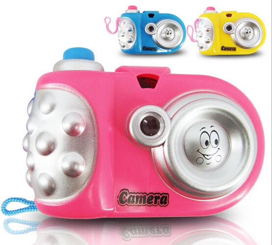 Baby Study Toy Kids Projection Camera Educational Toys for Children kids camera(China (Mainland))