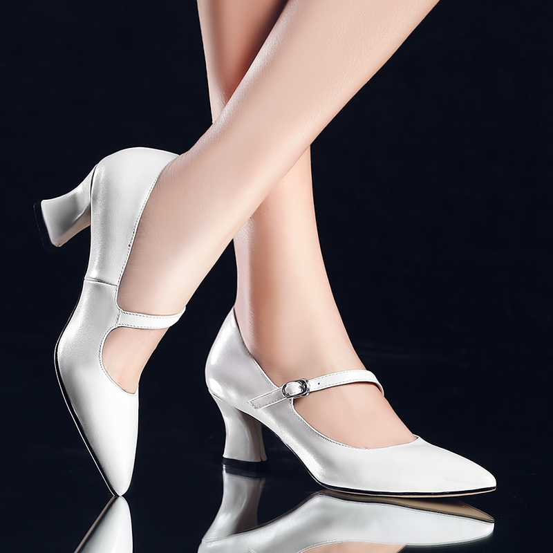 Pointed toe women low heel work shoes girls sweet strappy dress shoes ladies heel shoes femal comfortable wedding shoes h264(China (Mainland))