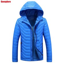 Dropshipping Men Winter Down Jacket 90% grey Duck Down Jackets Men Outdoors waterproof Warm Coat High Quality Ultralight jacket