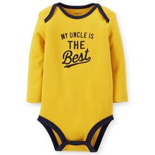 Baby Clothing Long Sleeve Boy Bodysuits For Girls Newborn Carters Children for baby boy girl clothing