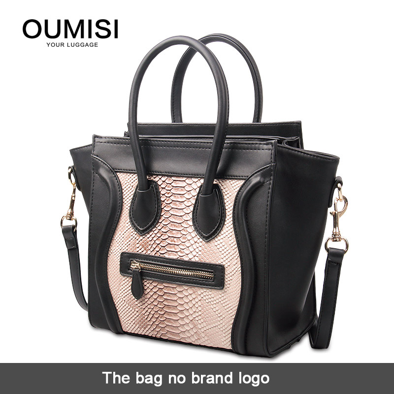 Oumisi New arrival fashion women hand smiley package,Fluorescence color Crossbody Shoulder bag serpentine smiling face bag EP(China (Mainland))