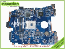 laptop motherboard for SONY VAIO VPCEH A1827702A MBX-247 DA0HK1MB6E0 HM65 nvidia GT410M DDR3(China (Mainland))