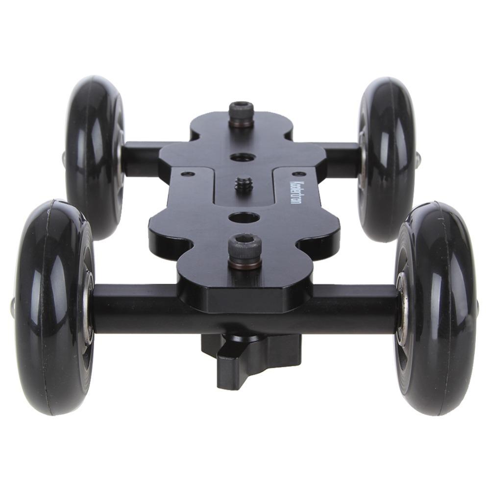 Koolertron New Pro Dolly DSLR Camera Floor Slider Track Talbe Car Video For Canon 5D2 60 7D<br><br>Aliexpress
