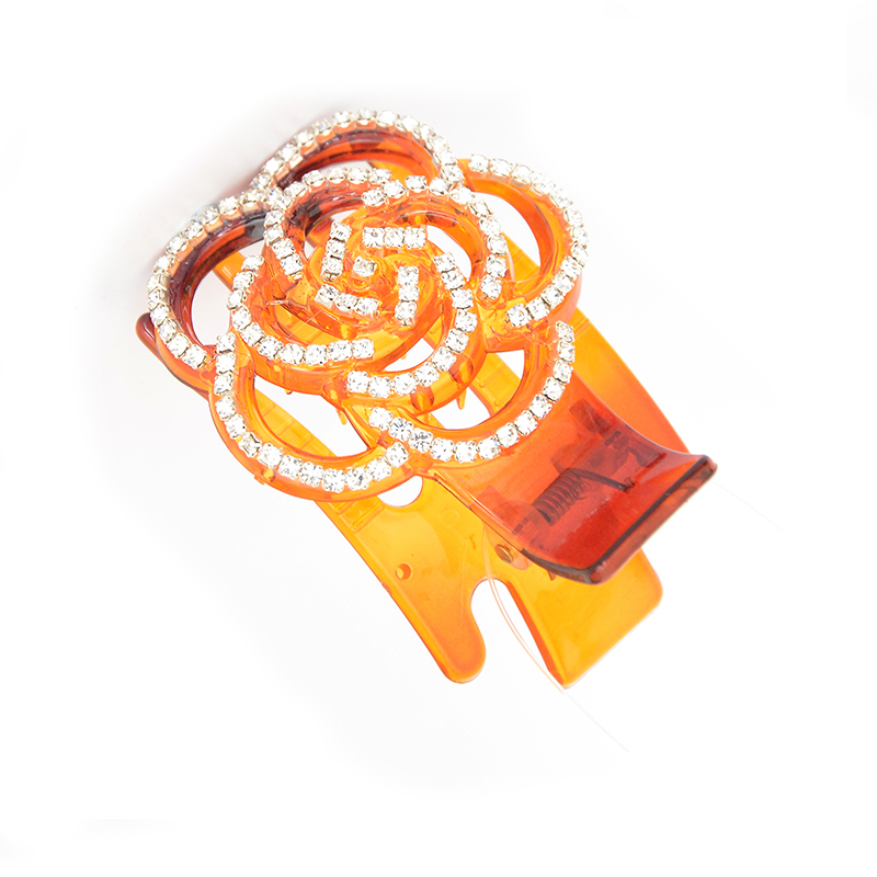High-quality brand Hair Clip fashion Acrylic Flower Hair Claw hair accessories for women simple hair crab clamp AF383(China (Mainland))