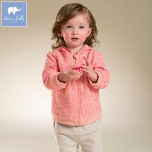 Brand2016Spring Autumn kid infant toddler baby girl lace sweatshirt hoodies zipper fleece coat children baby girl clothes 12M-6T(China (Mainland))