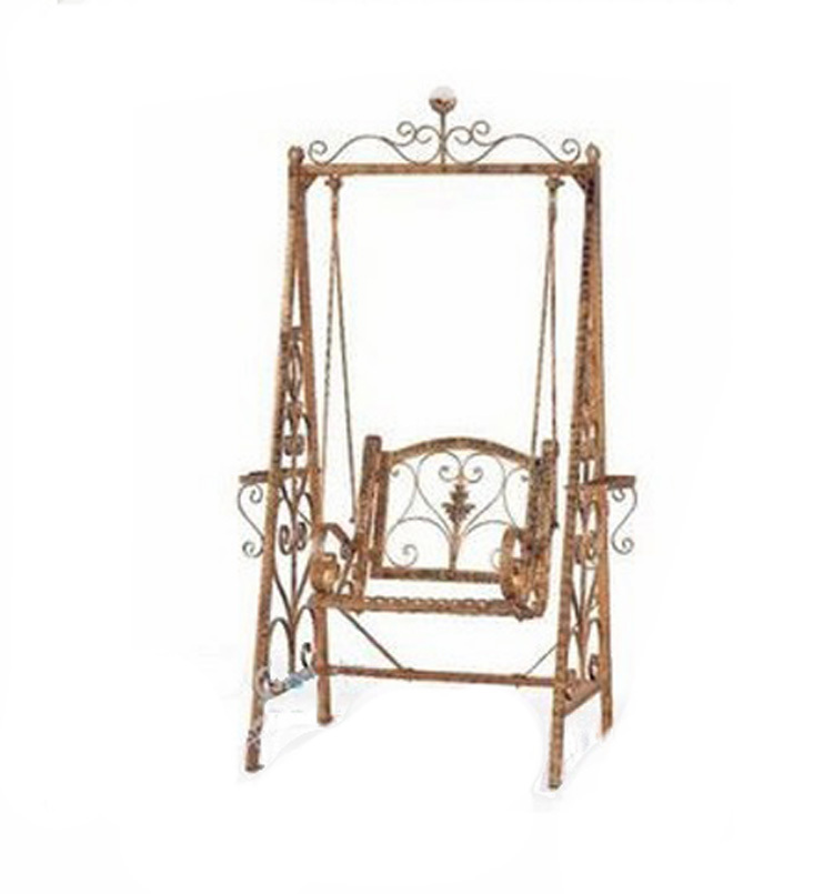 iron chiaki single basket outdoor swing chair and shook - Porch Swing Chair - Gallery Image Azccts
