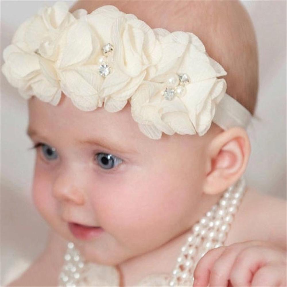 Повязки на голову новорожденным своими руками