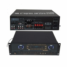 Blueteeth Recordable Professional Digital Karaoke Amplifier Mixer With MP3 Recorder /Player Power amplifier audio DJ amplifier(China (Mainland))