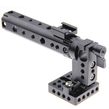 Buy CAMVATE Camera Video Cage DSLR Top Handle Rig + 15mm Rod Clamp 1/4 Cold Shoe Mount Canon 7D Sony A7 Foto Kit C1153 for $72.74 in AliExpress store