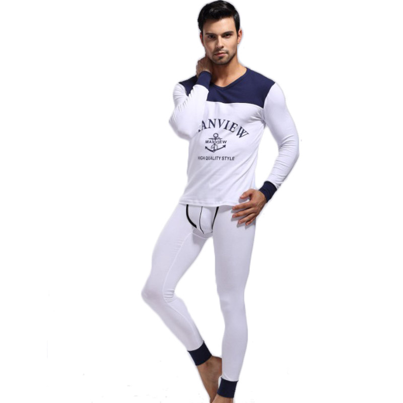 1 set mens Pajamas keep warm sleepwear cotton long sleeve pants robe brand home suits 2015 new mens Lounge soft wear bottomsОдежда и ак�е��уары<br><br><br>Aliexpress