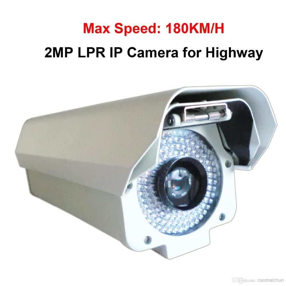 2.0Megapixels 1920*1080P License Plate Recognition Camera IP LPR camera ANPR camera (For vehicle speed under 120KM H)(China (Mainland))