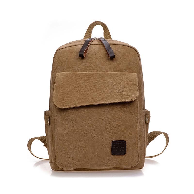 New Vintage Backpack Fashion Shoulder Bag Men Canvas Backpack Multi-Color Leisure Travel Bags School Backpack