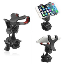 360 Degree Universal Motorcycle MTB Bike Bicycle Phone Holder Handlebar Mount For iPhone for Samsung Cellphone GPS MP4 MP5(China (Mainland))