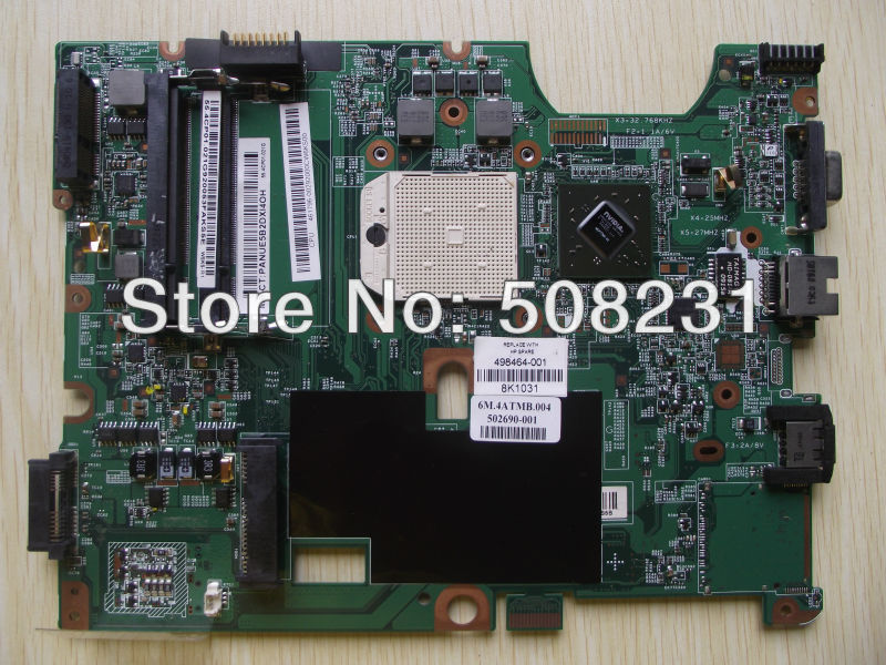 Free shipping 498464-001 Motherboard for HP Pavilion CQ50 CQ60 G50 G60, 100% Tested and guaranteed in good working condition!!(China (Mainland))