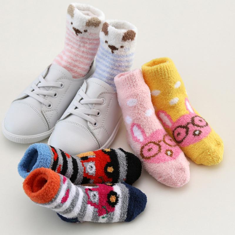 296Флисовые носочки для детей