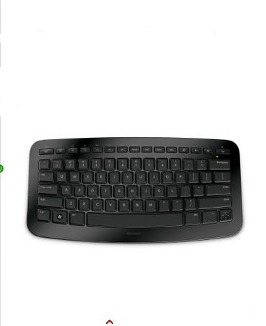 New Microsoft Arc usb 2.4GHZ Wireless Ergonomic Keyboard(China (Mainland))