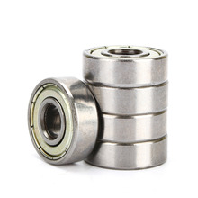 10pcs/Set 608ZZ 8x22x7mm Miniature Deep Groove Ball Bearing for 3D Printer 8mm Bore for Printer Accessory Accessories Free ship